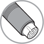 8 Pin DIN connector (A+ Series)